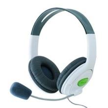 Marsnaska 2016 Nuovo Bianco E Nero a Contrasto di Colore Cuffia Auricolare con Microfono Mic per Xbox 360 Live Controller di Alta Qualità