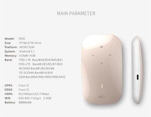 Image 5 - Беспроводной модем 4G, Wi Fi роутер, портативный Mifi, GSM, глобальный ключ разблокировки, 2800 мАч, внешний аккумулятор, разъем для SIM карты