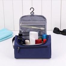 Large Capacity Waterproof Makeup Bag Storage Hangable Cosmetic Bag Women Travel Zipper Make Up Case Pouch Toiletry Wash Kit недорого