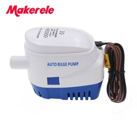 Free shipping 600GPH DC12V/24V accessories marin,Automatic bilge auto submersible boat water pump