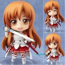 Sword Art Online Asuna Action Figures,10CM Figure Collectible Toys Action Figure Collectible Brinquedos Kid Model Toys Gift