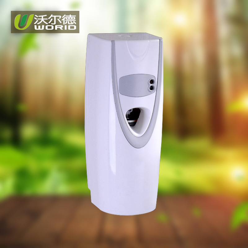 X 1118 2019 Automatic LED Light Sensor Aerosol Air Freshener Digital Spray Dispenser Perfume Without Battery and Gas Tank in Liquid Soap Dispensers from Home Improvement