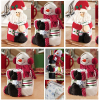 10pcs 2015New Towel Bottle Cover Christmas Home Table Holiday Party Supply Xmas Santa Claus Snowman Wine
