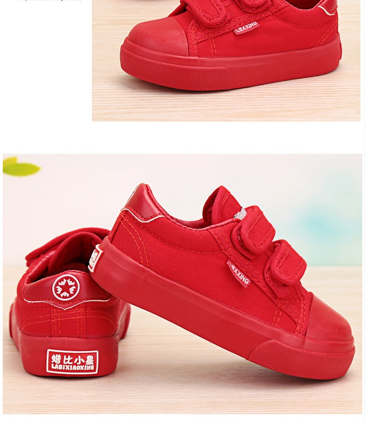 Beautiful Baby Girl and Boy White Canvas Shoes 6 Colors kids Casual Shoes Flat and Durable Toddler Little Girl Sneakers 18