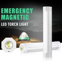 2W LED Flashlight Lantern USB Rechargeable Camping Light Fla