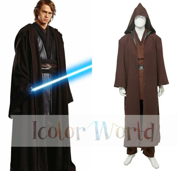 hot movie star wars anakin skywalker cosplay costume halloween costume