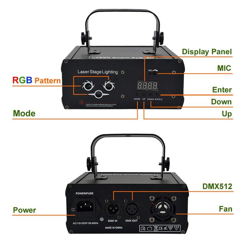 aurora dj luz laser projetor de som