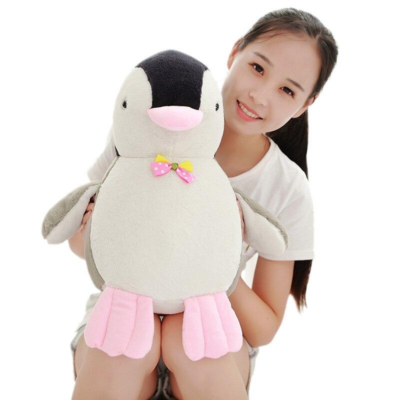 Nette pinguin plüsch pinguin puppe Weiches kissen puppe plüschtiere ...