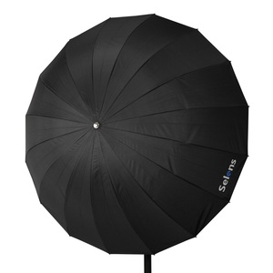 "Image 5 - Selens 65 ""165 cm Parabolic עמוק רעיוני מטריית כסף צבע עבור Speedlite סטודיו תאורה עקיפה w/נשיאת תיק"