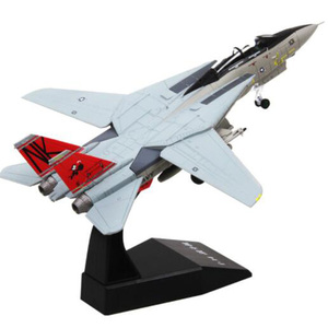 1/100 Grumman F-14/F15 Tomcat U.S. American Navy aircraft airplane fighter models children toys for display show collections(China)