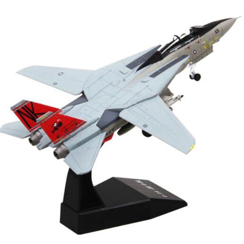 1/100 Grumman F-14/F15 Tomcat U.S. American Navy <font><b>aircraft</b></font> airplane fighter <font><b>models</b></font> children toys for display show collections image
