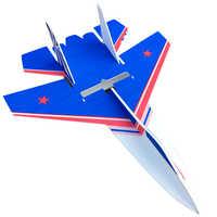 Giocattolo per bambini Velivoli di Controllo Remoto Bordo Magia di Stampa a Colori di Resistenza Per Modello di Volo Su 27 Giocattoli di Sport All'aria Aperta 000100