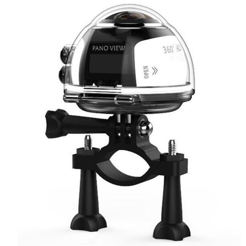 4K Panoramic 360 Degree Fish Eye Lens WIFI Camera with LTPS LCD & Max 720P@120fps & IPX8 for 30M Underwater Diving Free App View - 3