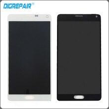 Белый черный LCD Дисплей Сенсорный экран планшета полная сборка запасные части для Samsung Galaxy Note 4 N910 N910 N910A N910T