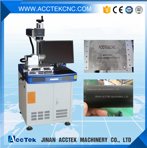 Rotary device for ring fiber laser marking machine, 20W MOPA color laser marking machine