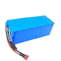 Laudation 48 В 16AH батарейный блок 13 S 5 P 18650 перезаряжаемый аккумулятор с 2A зарядным устройством встроенный 15A BMS для электрических велосипедов