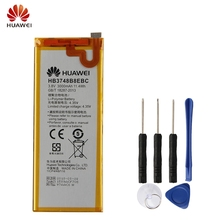 Original Replacement Battery Huawei HB3748B8EBC For C199 C199-CL00 Ascend G7 G7-TL100 Authentic Phone 3000mAh