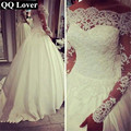 QQ Lover 2017 New Arrival Princess Wedding dress butterfly Wedding gown Vestido De Noiva With Real Pictures