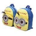 2016 Crianças Mochila Bonito Dos Desenhos Animados Minions Backpack School Bolsas Para Meninos e Meninas Mochilas Crianças Do Jardim de Infância Pequeno Kawaii A71