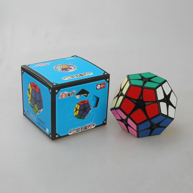 Wholesale 2*2 Megaminx Black/White On Stock Speed Cube Cubo Magico Educational Toys Kids Toys Best Gifts BABY'S PARTNER