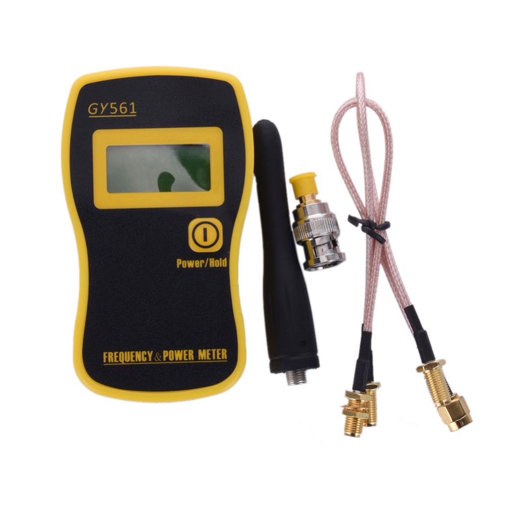 Radio Frequency Power Meter : Gy portable frequency counter meter mhz rf