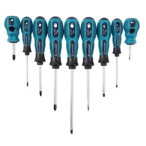 Image 2 - Jeu de tournevis outils multi bits réparation Torx tournevis tournevis Kit maison utile Multi outil à main 9 en 1 tournevis ensemble