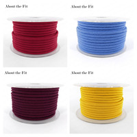 About the Fit 2.5mm 20Meters/Roll Handcrafts Woven Beading Rope Lacing String For Bracelet Necklace Making Jewellery Accessories