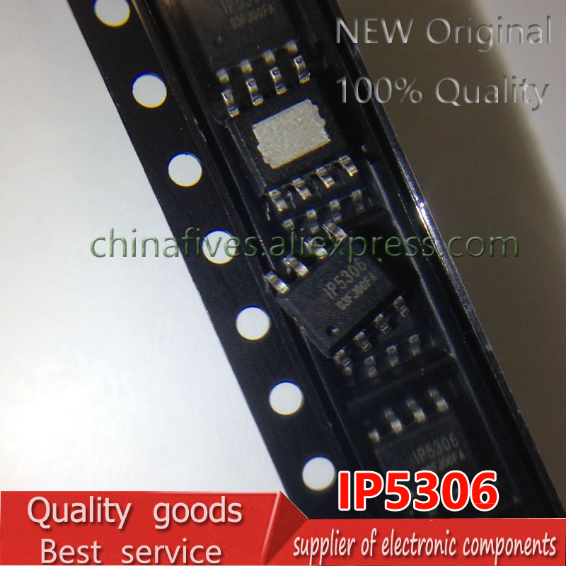 5pcs/lot New Original IP5306 2.1 A Charging/high Integrated Mobile Power Supply Chip Patch 2.4 A Discharge
