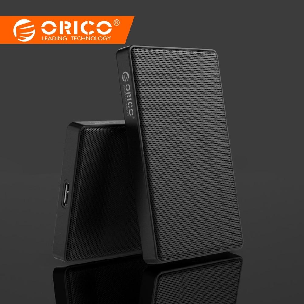 ORICO 2,5 pulgadas HDD caso SATA a Usb 3,0 de malla de HDD carcasa para Samsung Seagate Disco Duro caja disco duro externo SSD adaptador