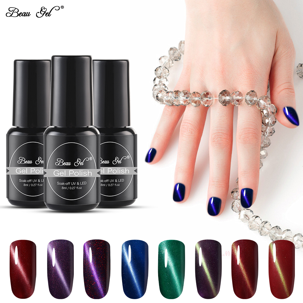 Nail Gel Cats Eye Gel Varnish Soak Off 3d Gel Lacquer Magic Stick Gradient Uv Nail Polish 12 Colors Available 10ml Factory Direct Selling Price Nails Art & Tools