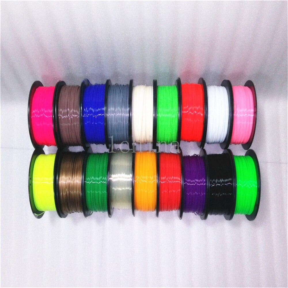 ФОТО 1china wholesale 1kg 1.75mm ABS 3D Filament For 3D Printer 3D doodler 3D Pen filaments Refills