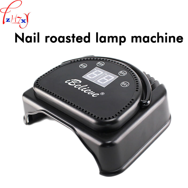 64W professional LED/UV light therapy nail machine nail lamp with timing function nail art equipment 110/220V 1PC