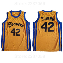 05ec20dadc5b Ediwallen Beacon Beavers 42 Scott Howard Jersey Men Moive American Film  version state Basketball Jerseys All