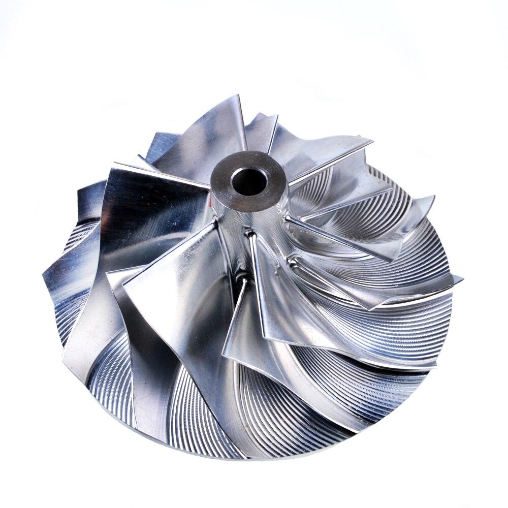 Kinugawa Turbo Billet Compressor Wheel 41.72/56.08mm 6+6 for KKK K0422-581 / 582 for MAZDA CX-7 kinugawa turbo billet compressor wheel 47 1 60 13mm 11 0 raise over height for garrett gtx2860r 813711 0003