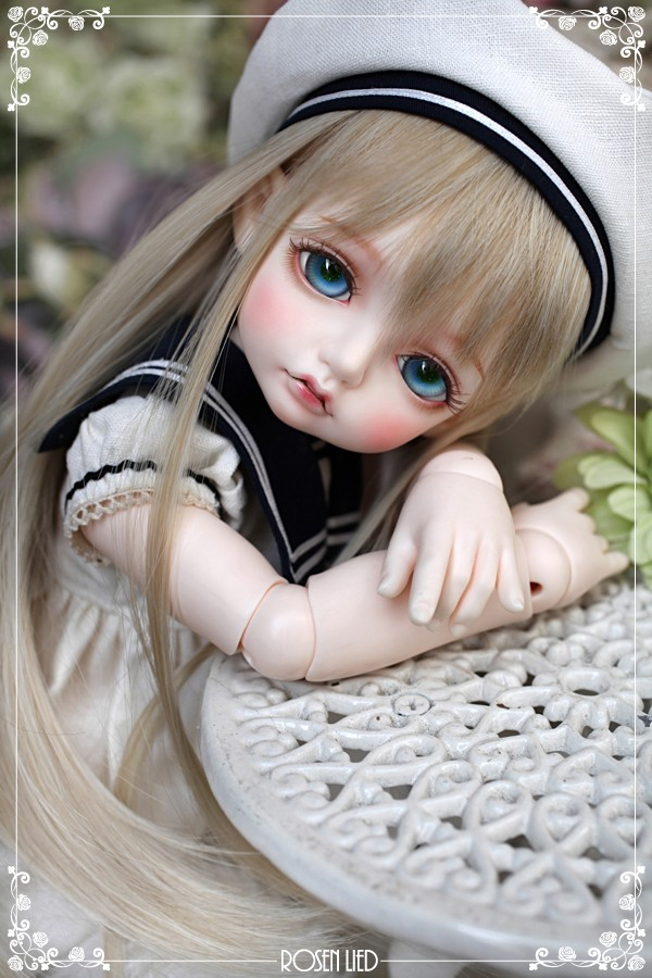 luodoll BJD SD doll doll Rosenlied Mignon RL doll fairyland toy giant baby luodoll 1 6 bjd sd doll doll soom alk yrie doll include and eyes
