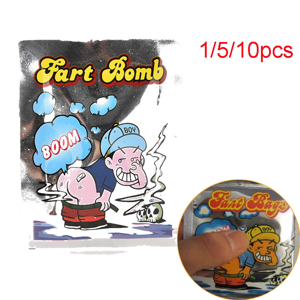 2017 Stink Bomb Prank Toys 10 Pieces/ Lot Squeeze Smelly