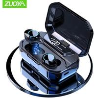 G02 X6 TWS Bluetooth 5.0 Wireless Earphone IPX7 Waterproof Earbuds Handsfree Earphones 3300mAh Charging Auto Pairing for sports