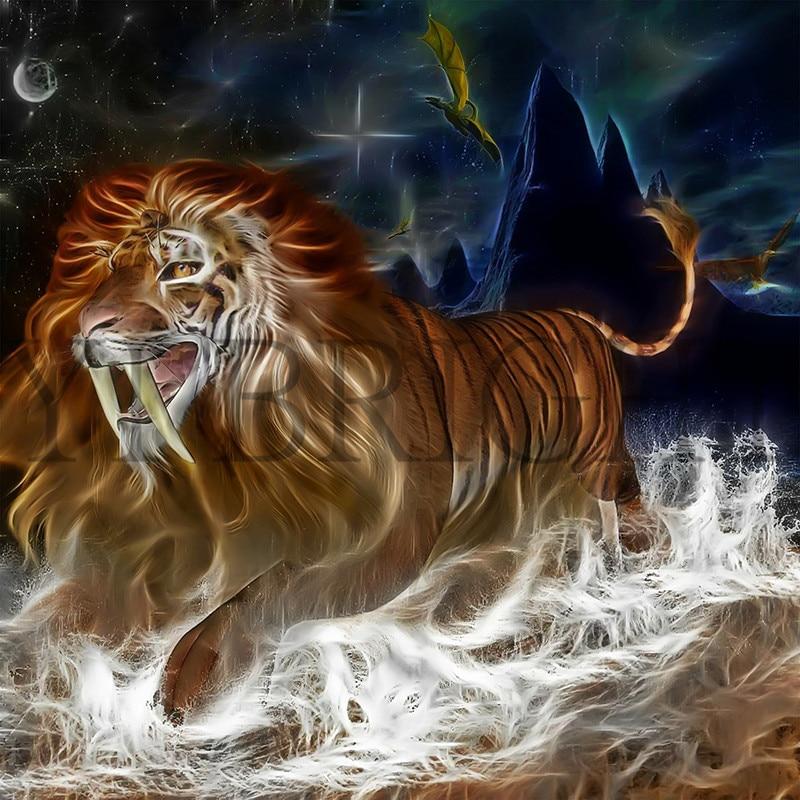 Днем, открытки львы и тигры