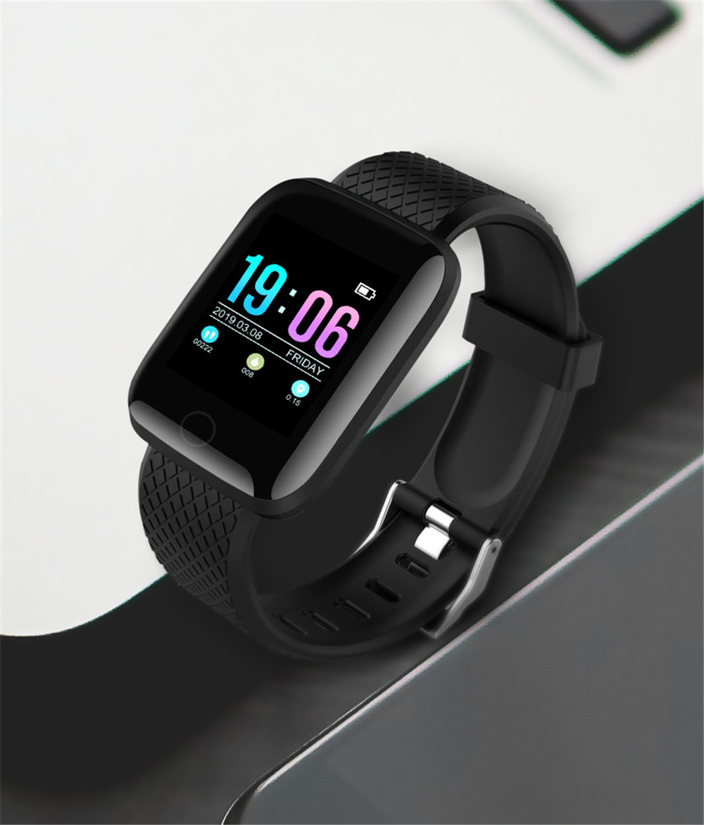 20-130435- Smart Watch Men Blood Pressure Waterproof Smartwatch Women Heart Rate Monitor Fitness Tracker Watch GPS Sport For Android IOS