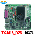 Mini Itx 2 * SATAII Chipset NM70 1037U motherboard industrial Mini Itx motherboard industrial MINI-ITX-M18_D26