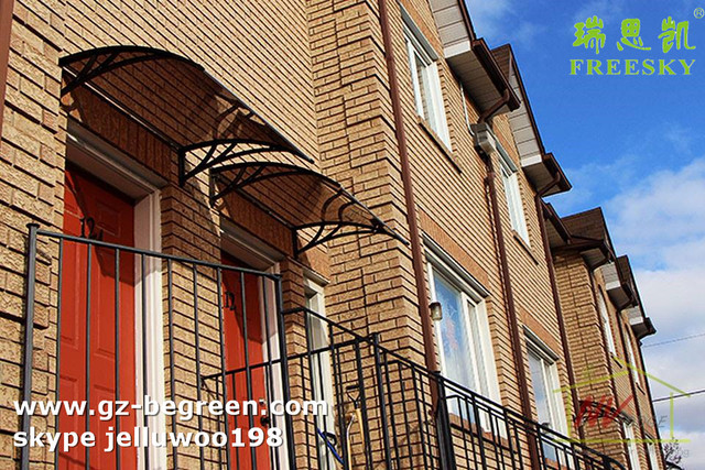 YP80240 80x240cm 31.5x94.5cm Sun Shade Canopy Awning For Windows Doors House Canopy Polycabonatee ,polycarbonate awnings