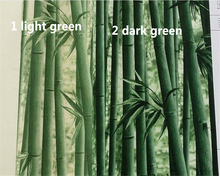 beibehang Bamboo leafy waterproof PVC green bamboo wallpaper restaurant Chinese classical background wall papel de parede tapety