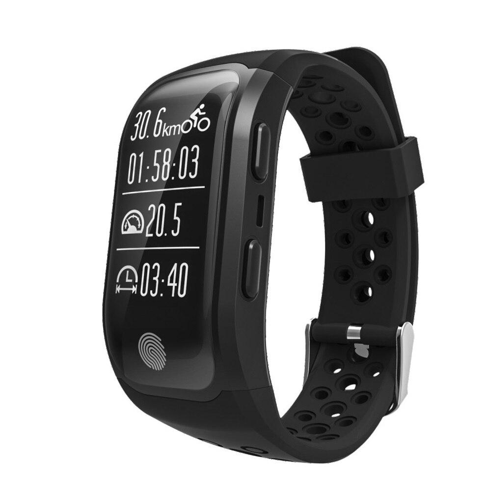 Doublex S908 GPS Smart Band IP68 Waterproof Sports Wristband Multiple sports Heart Rate Monitor Call Reminder G03 Smart-band цена
