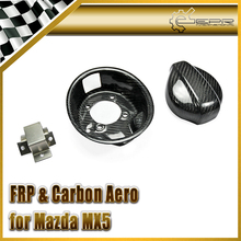 Автомобиль стайлинг Для Mazda MX5 NA 1989-1997 Углеродного Волокна Крышки Бака Крышка Набор На Складе