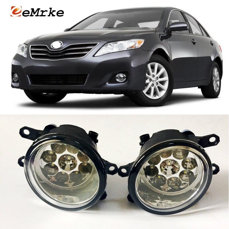 EEMRKE Car-Styling For Toyota Camry XV40 2006-2011 9-Pieces Led Halogen Fog Lights 12V 55W Fog Head Lamp