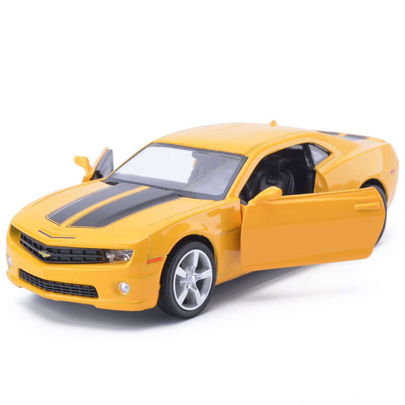 5 inch High Simulation Toy Vehicles Diecast Metal Alloy Model Cars For Chevrolet Camaro Car Model Toy Vehicles For Kids 1 43 peugeot 208 gti mini alloy model diecast cars toy vehicles limited edition craft messenger car