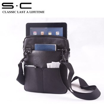 S.C Free Shipping wholesale and dropshipping - 100% leather Case For Ipad2 /For ipad bag /For Ipad case  4IPB001