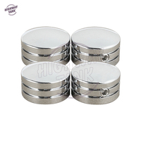 4 Pcs Chrome Motorcycle Head Bolt Covers Case For Harley Sportster XL883 XL1200 Twin Cam Big