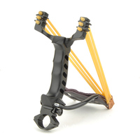 Sling Shot stainless steel Bow Slingshot Hunting Catapult Rubber Band Outdoor Hunting Slingshot Tool Accessories|steel bow|bow catapultsling shot -
