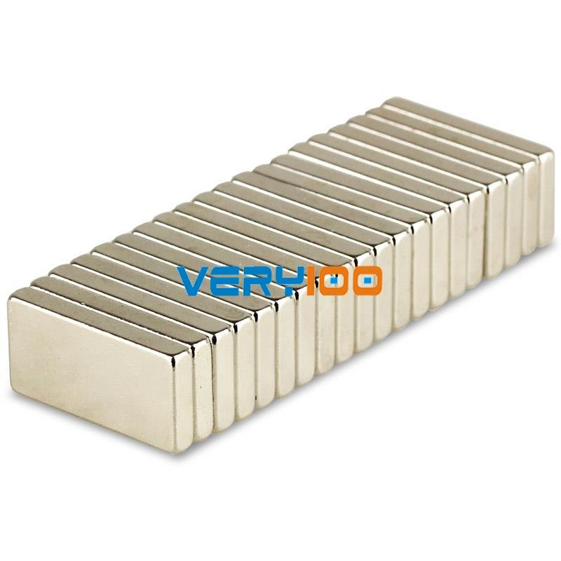 Lot 10pcs Super Strong Block Magnet 20 x 10 x 3mm Rare Earth Neodymium Wholesale